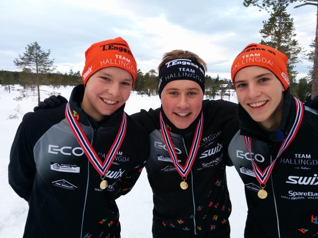 KM stafett på Vikerfjell 2014