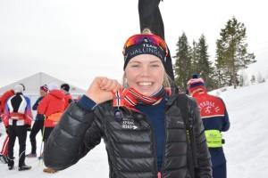 Guros siste år som jr. Gøy å kunne ta med seg en NM medalje etter alle disse årene.